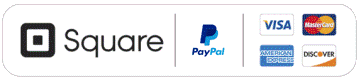 Pay By Square, PayPal, Bank Transfer or Card